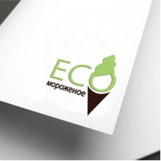 Картинка: Разработка логотипа для мороженного «ECO мороженное»